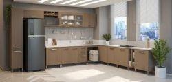 Lixeira Aramada Dupla Para Balcão de Cozinha G632 - Kappesberg