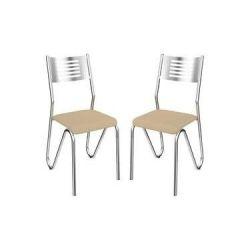 Kit 2 Cadeiras Nápoles 2C045 - Kappesberg