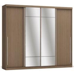 Guarda-Roupa/Roupeiro Kappesberg, 4 Portas de Correr, Espelho  - D558