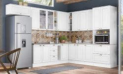 Cozinha Modulada 16 Peças 100% MDF - Americana