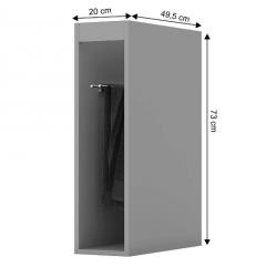 Armário Porta Toalha 200 mm Belize - C511