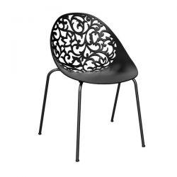 Cadeira Fiorita Preto I