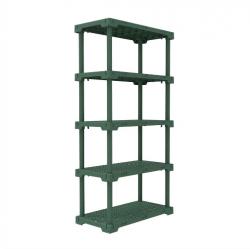 Estante Cube 5 Com 5 Prateleiras Verde Alecrim I