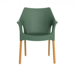 Cadeira Relic Wood Verde Alecrim I