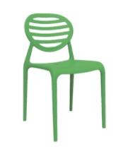 Cadeira Stripe sem Braço Greenery I