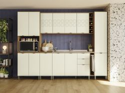 Cozinha Modulada Lótus kit04 - Kappesberg