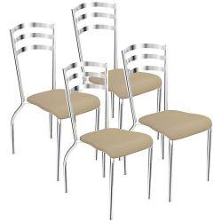 Kit 4 Cadeiras Portugal 4C007 - Kappesberg