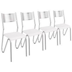 Kit 4 Cadeiras Nápoles 4C045 - Kappesberg