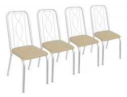 Kit 4 Cadeiras Viena 4C072 - Kappesberg
