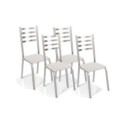 Kit 4 Cadeiras Alemanha 4C086 - Kappesberg