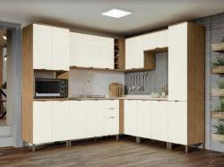 Cozinha  de Canto Modulada Lótus 8pçs  - Kappesberg