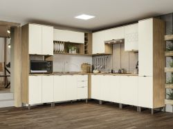 Cozinha  de Canto Modulada Lótus 10pçs  - Kappesberg