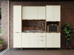 Cozinha  Modulada Lótus 4pçs  - Kappesberg