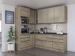 Cozinha de canto Modulada MAXXI 7 pçs   - Kappesberg