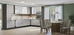 Cozinha de canto Modulada Nox Conjunto com 14pçs- Kappesberg