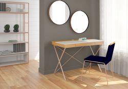 Escrivaninha Home Office Munique Móveis Rudnick