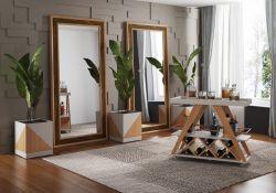 Quadro Espelho Luni Móveis Rudnick