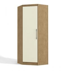 Roupeiro Canto 1 Porta Dormitório Modulado Prisma L530 - KAPPESBERG