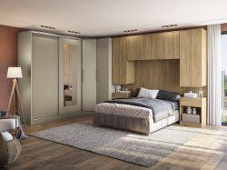 Painel para Dormitório Modulado Versa L574- KAPPESBERG