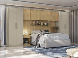 Painel para Dormitório Modulado Versa L576 - KAPPESBERG