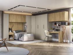 Painel para Dormitório Modulado Versa L577 - KAPPESBERG